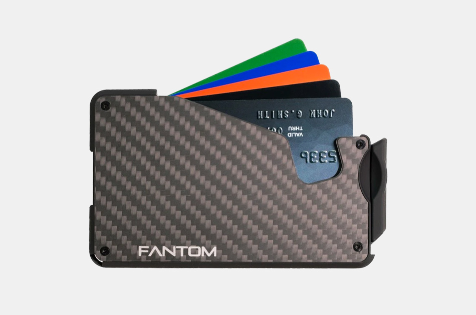 Fantom Carbon Fiber Wallet