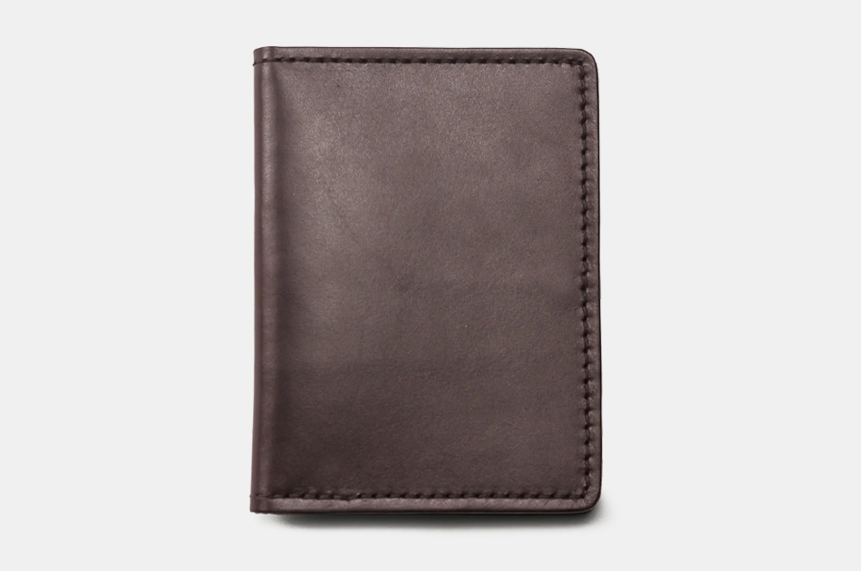 Filson Bridle Leather Passport and Card Case