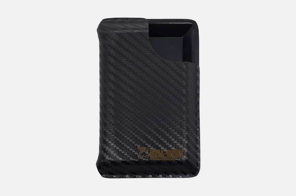 Hell-Bent Black Carbon Fiber Combat Wallet