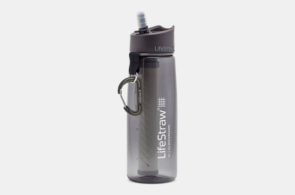 LifeStraw Go Advanced Water Filter Bottle