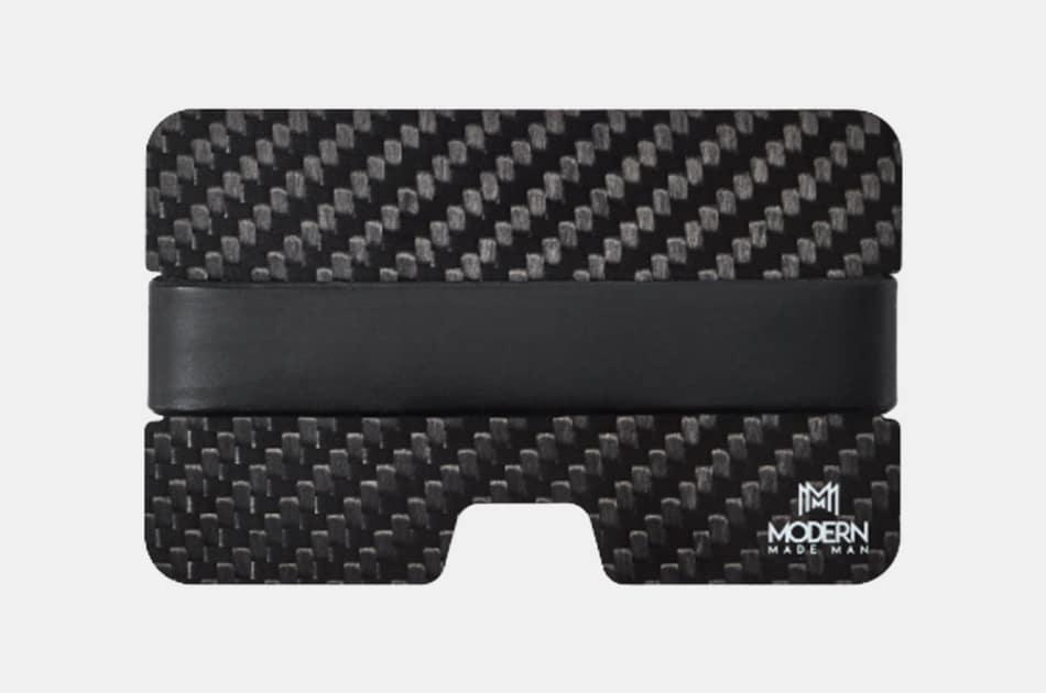 Modern Made Man Carbon Fiber Wallet