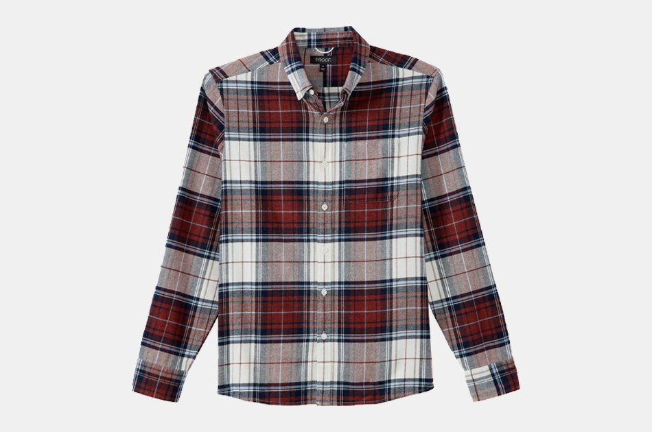 Proof Stretch Flannel Shirt
