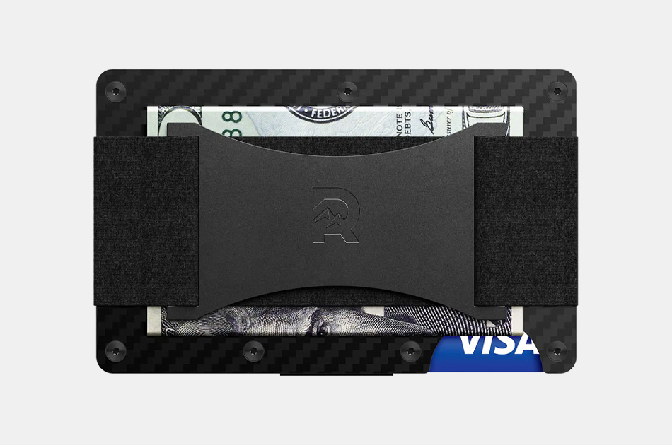 the ridge carbon fiber wallet