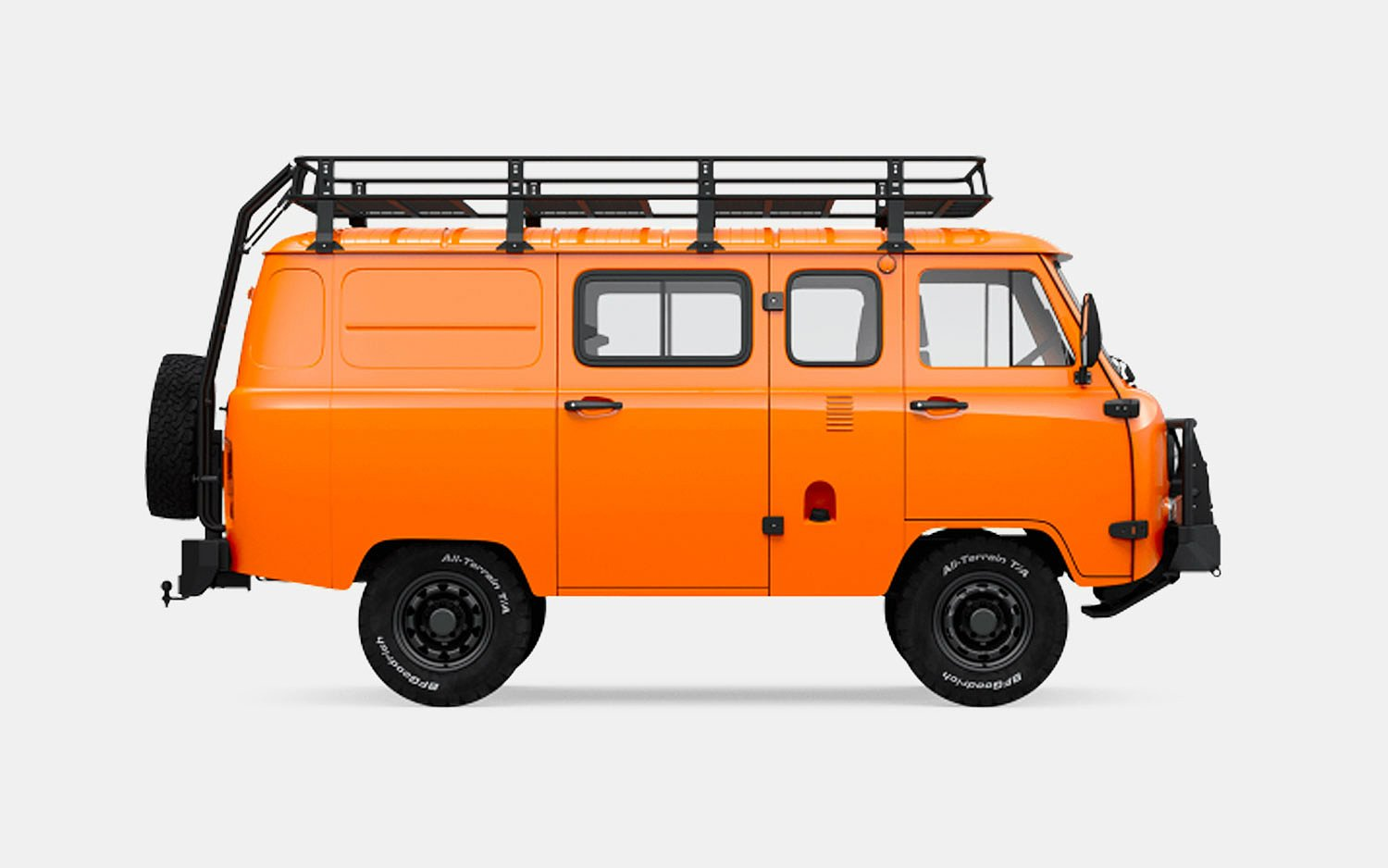 Uaz SGR Expedition Van