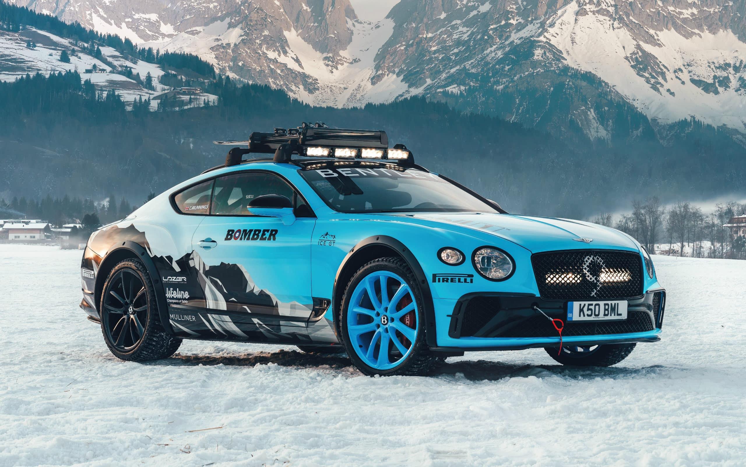 Bentley Continental GT GP Ice Racer