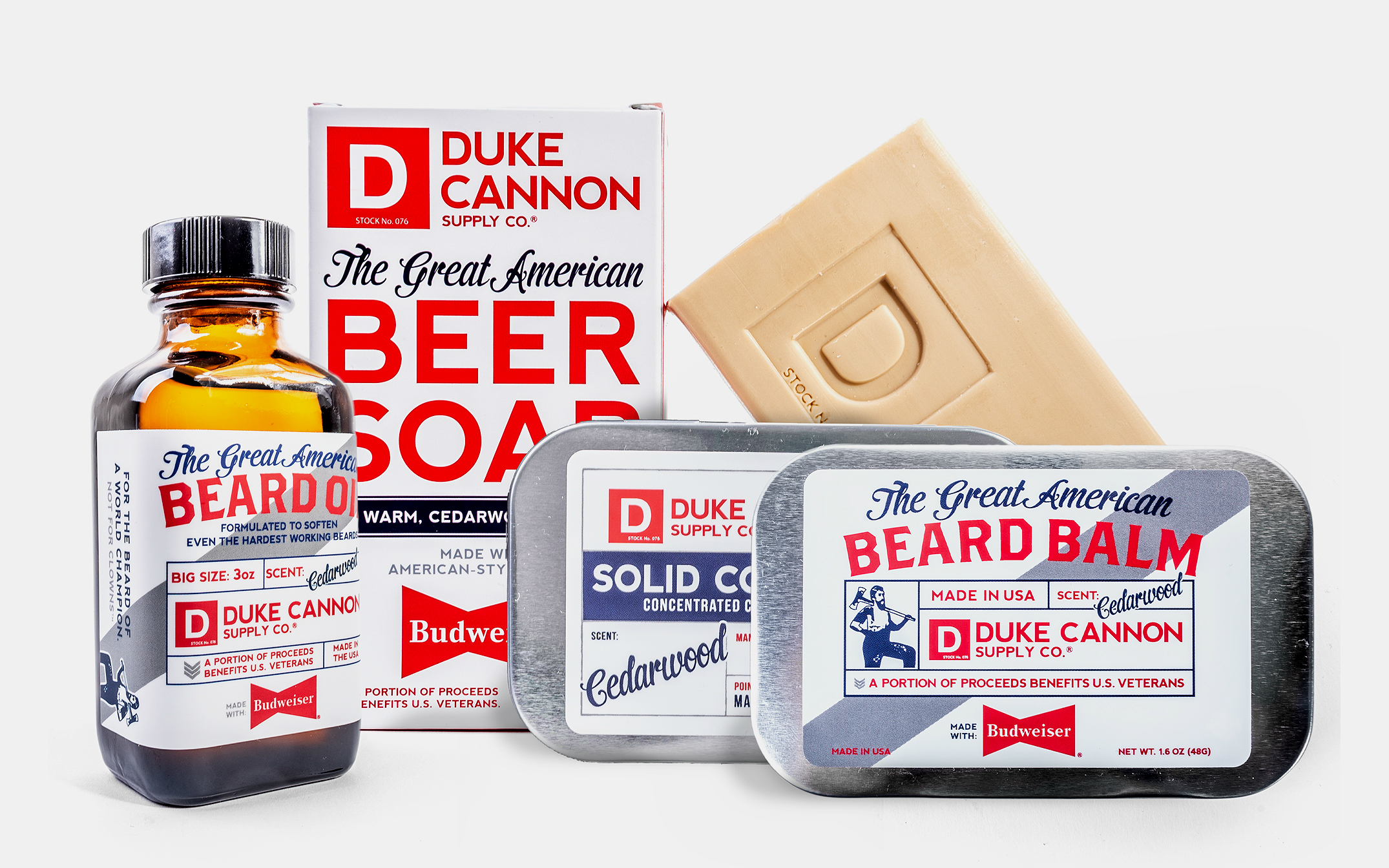 Duke Cannon x Budweiser Grooming Collection