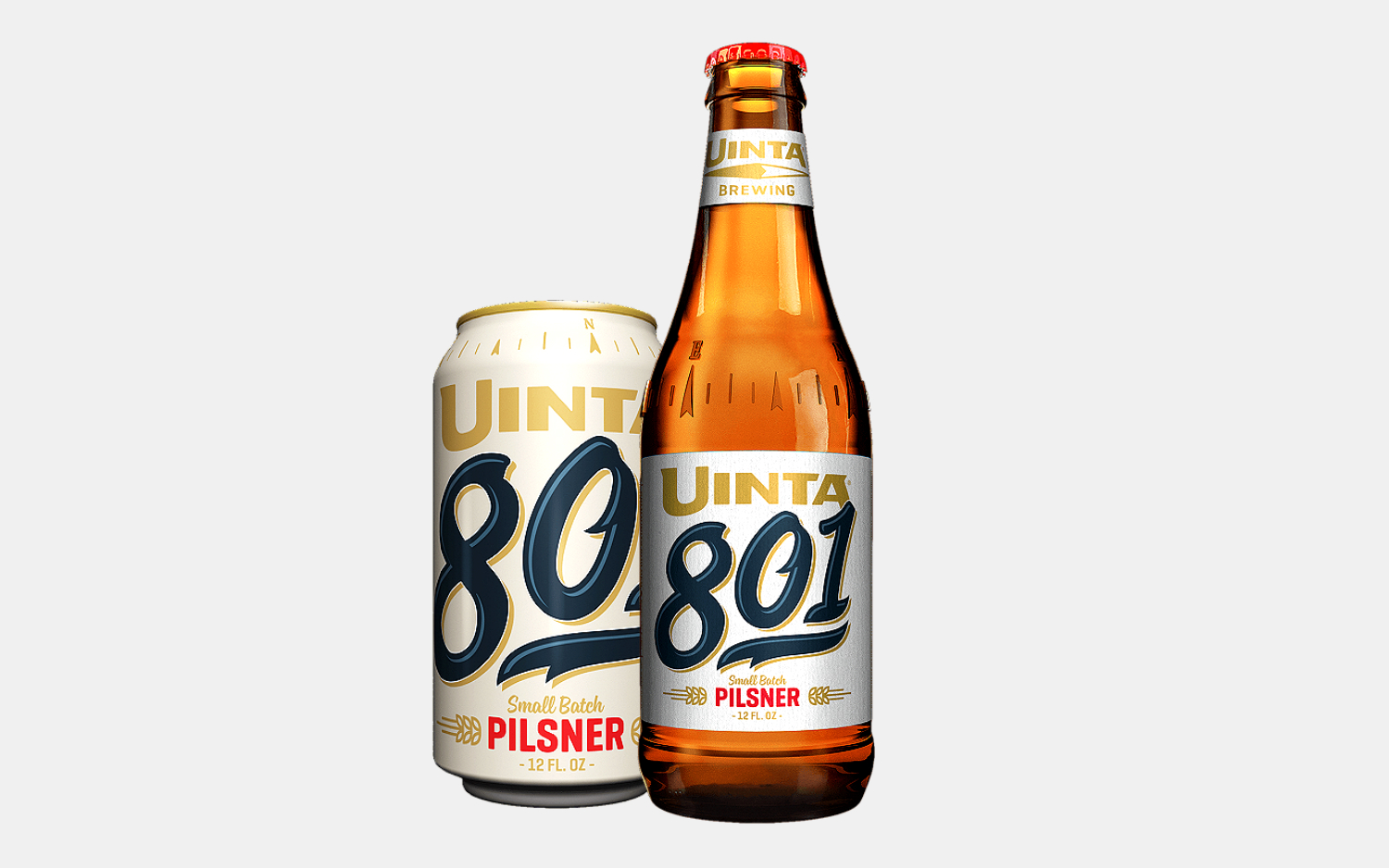 Uinta 801 Small Batch Pilsner