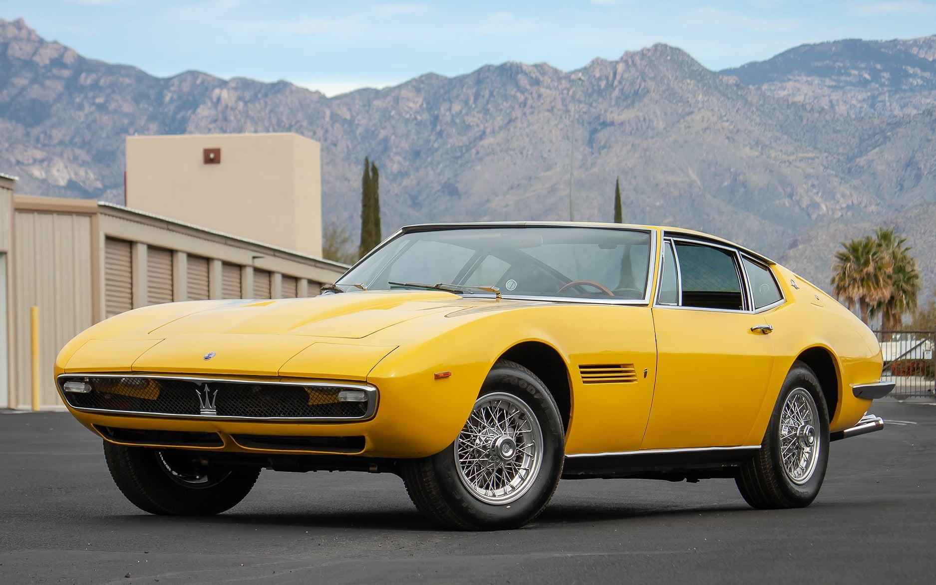 1967 Maserati Ghibli 4.7 Coupe