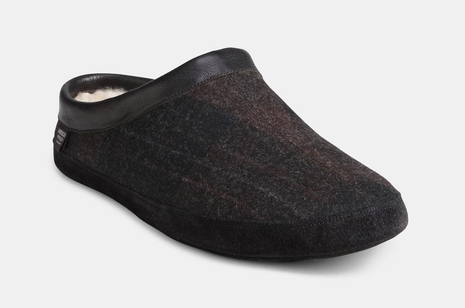 Allen Edmonds Kipp Genuine Shearling Lined Slippers