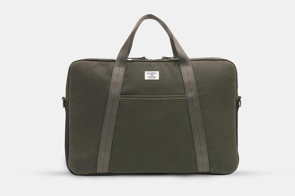 BillyKirk No. 508 Standard Issue Slim Briefcase