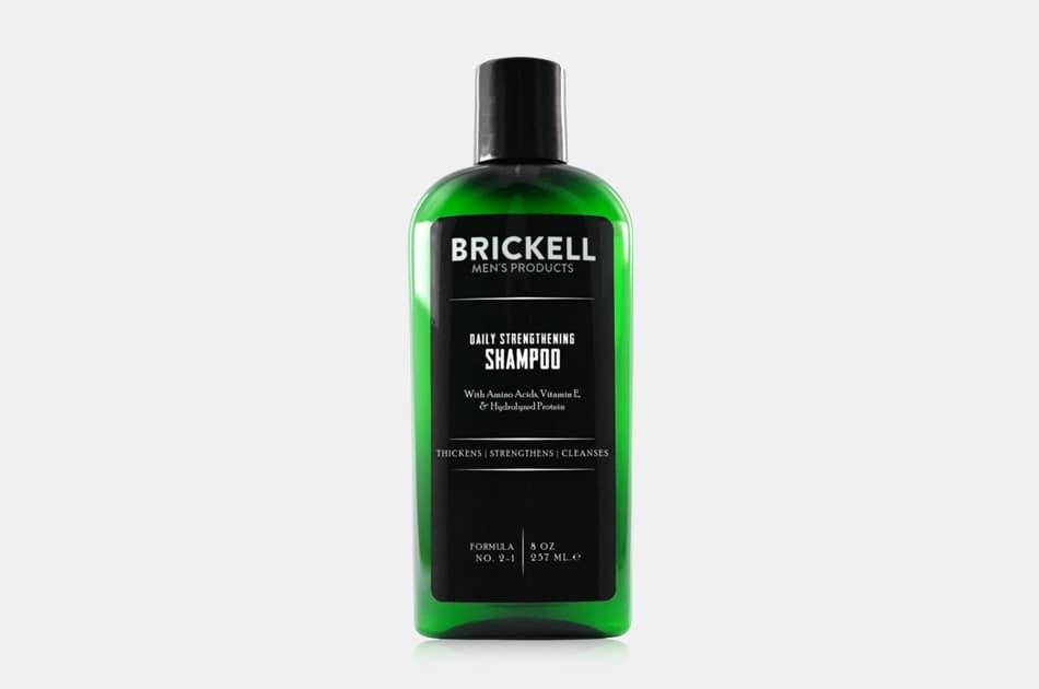 Brickell Men's Daily Strengthening Shampoo