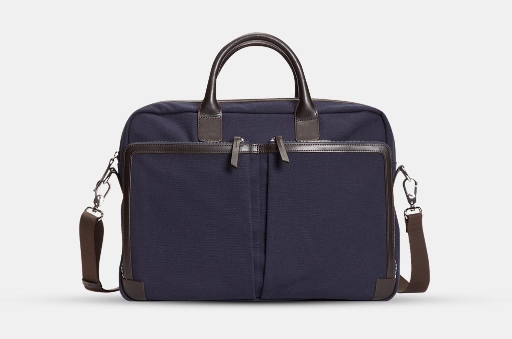 Brooks Brothers Canvas Briefcase