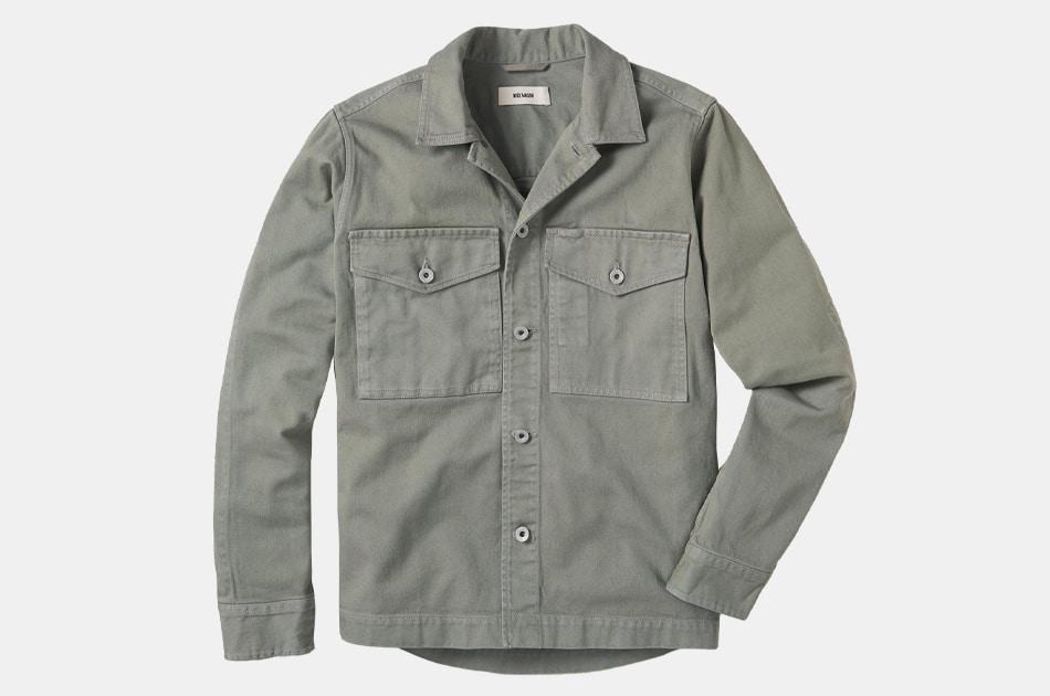 Buck Mason Bunker Twill Field Jacket