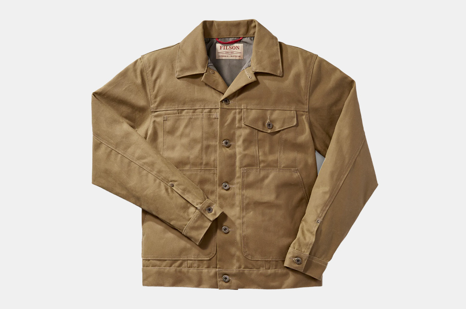Filson Tin Cloth Short Lined Cruiser Jacket