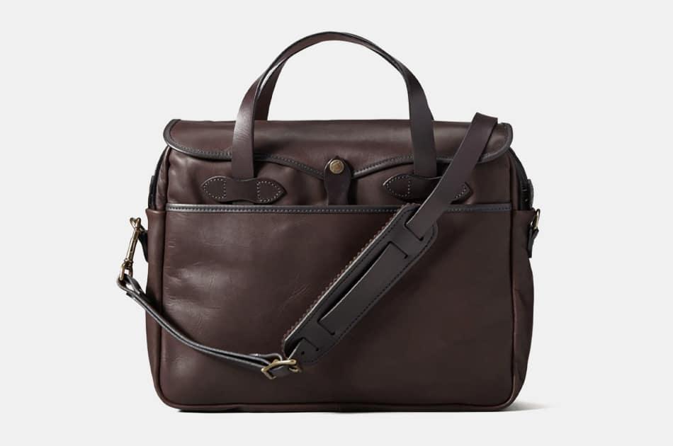Filson Weatherproof Leather Original Briefcase