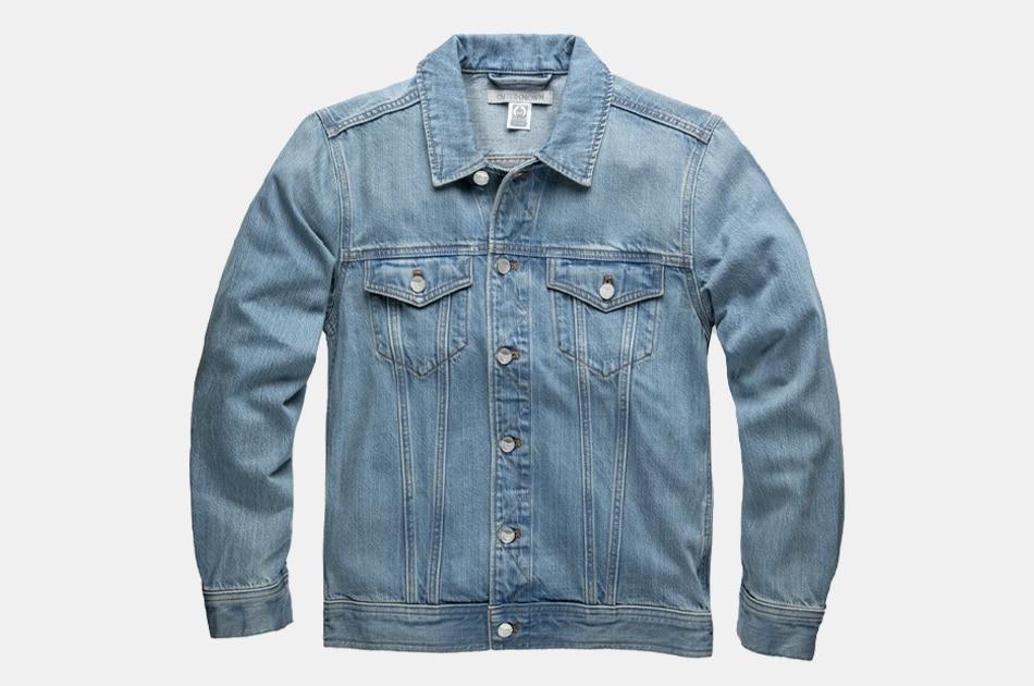 Outerknown Peacenik Denim Trucker Jacket