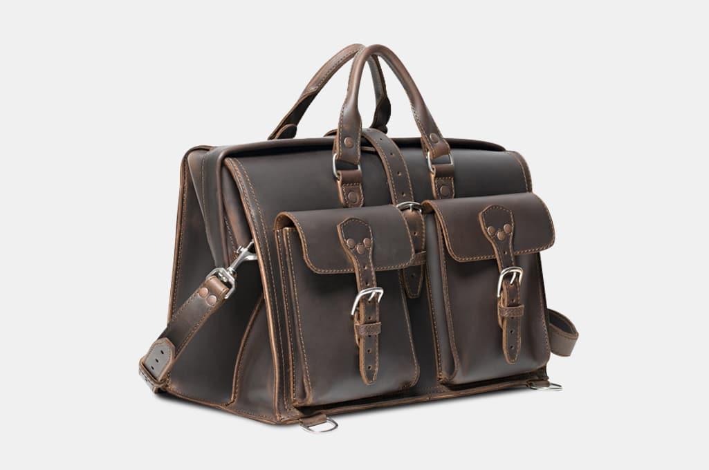 Saddleback Barrister's Leather Briefcase