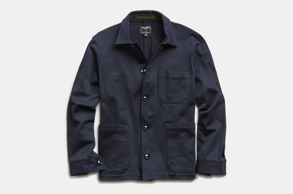 Todd Snyder Japanese Knit Chore Jacket