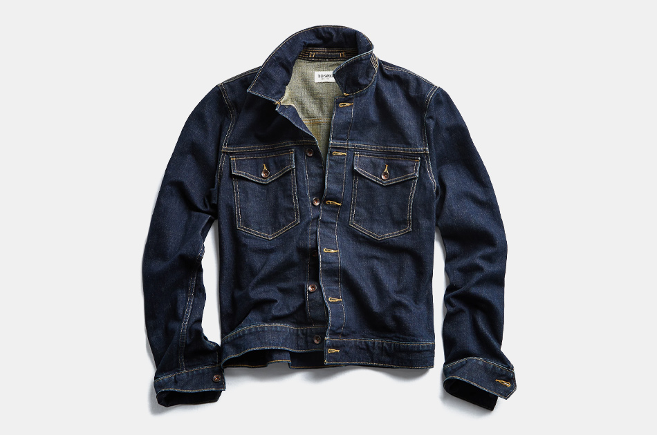 Todd Snyder Japanese Stretch Selvedge Denim Jacket