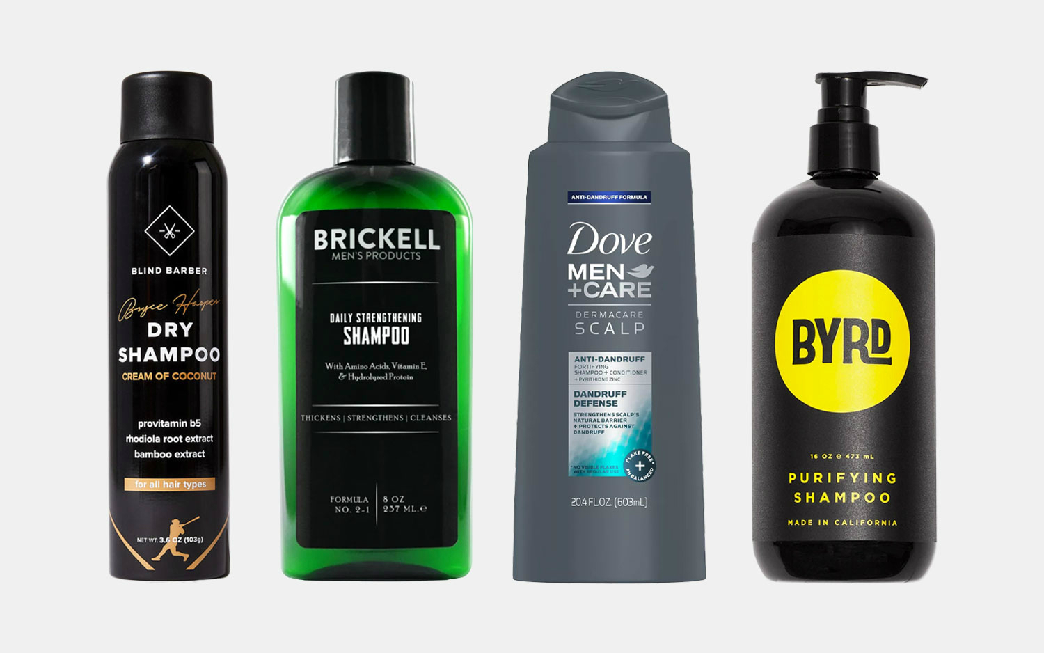 The 10 Best Shampoos For Men Gearmoose