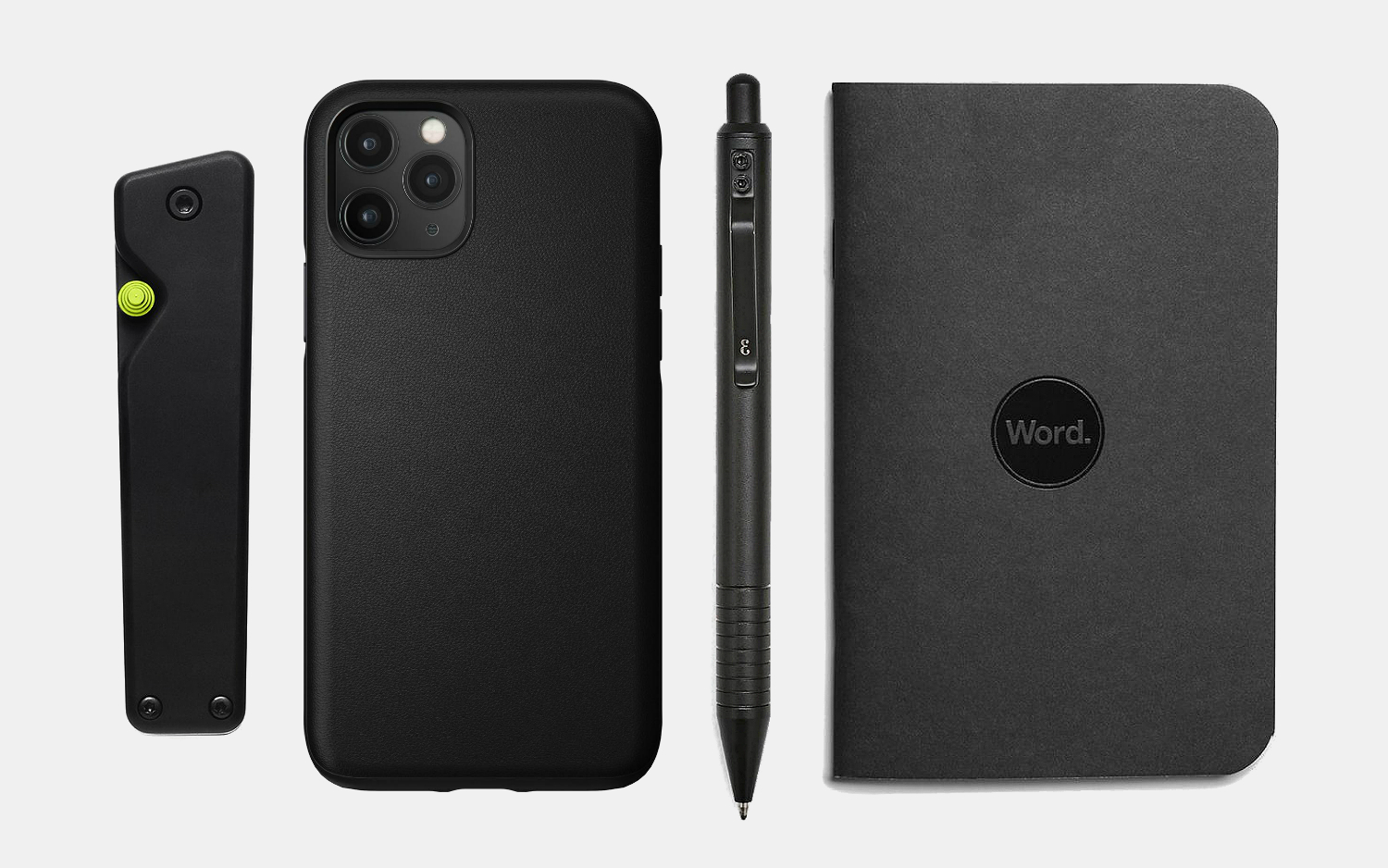 Blacked-Out Everyday Carry Essentials
