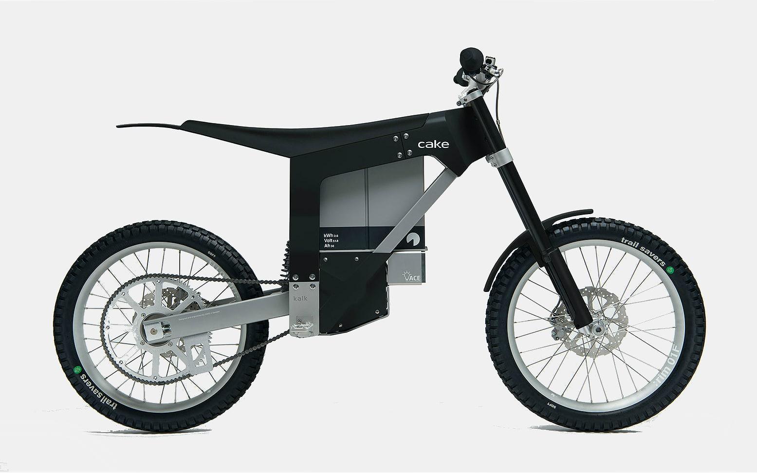 Cake Kalk Ink Electric Motorcycle