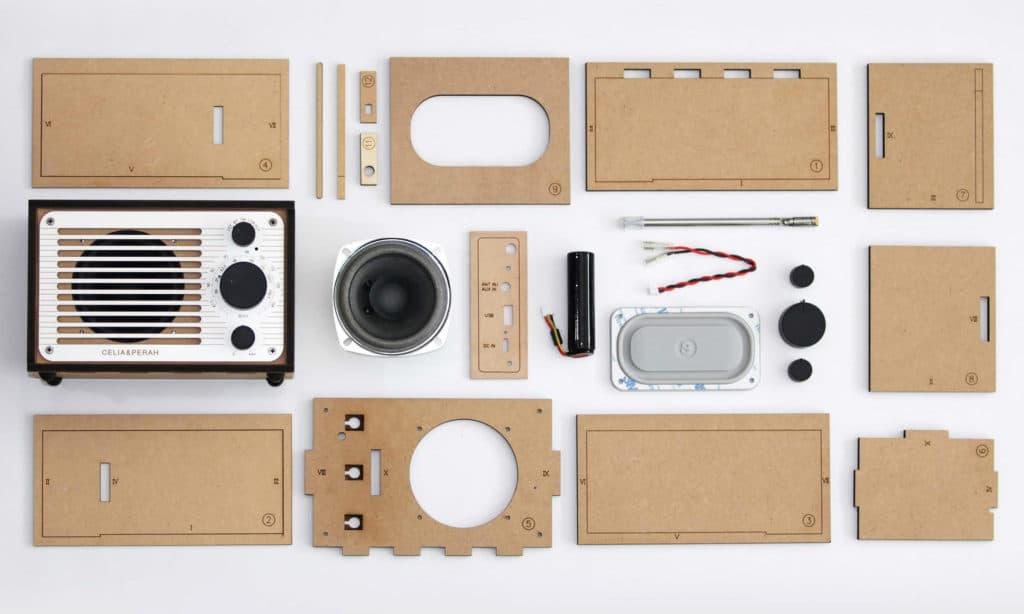 Celia & Perah DIY Bluetooth Speaker