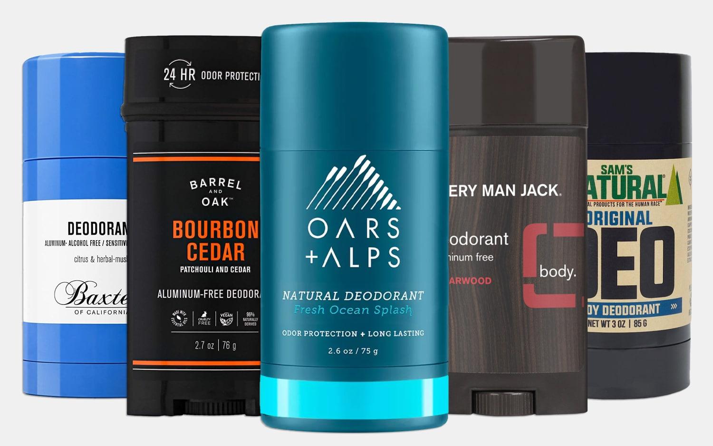 Best All-Natural Deodorants for Men