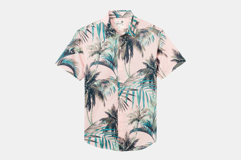 Bonobos Riviera Short Sleeve Hawaiian Shirt
