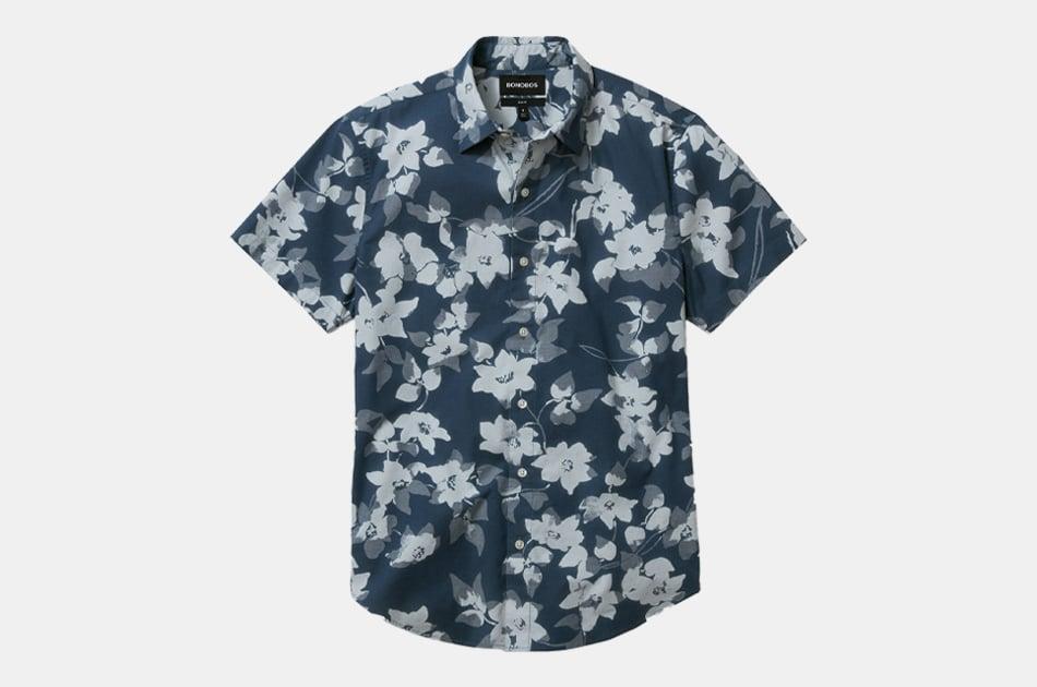 Bonobos Stretch Riviera Short Sleeve Shirt