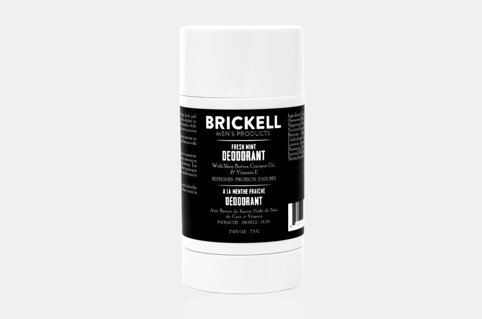 Brickell Men's Natural Deodorant