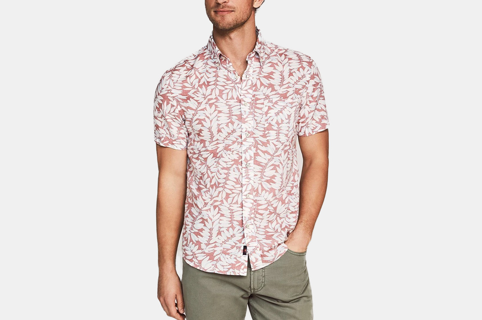 Faherty Short-Sleeve Playa Shirt