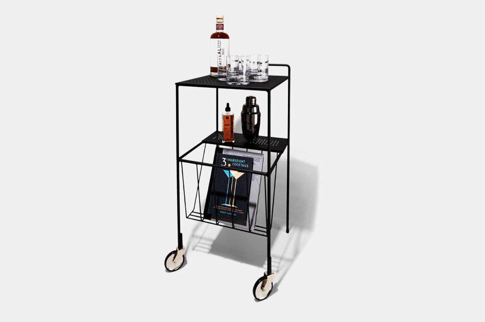 House Doctor Steel Bar Cart
