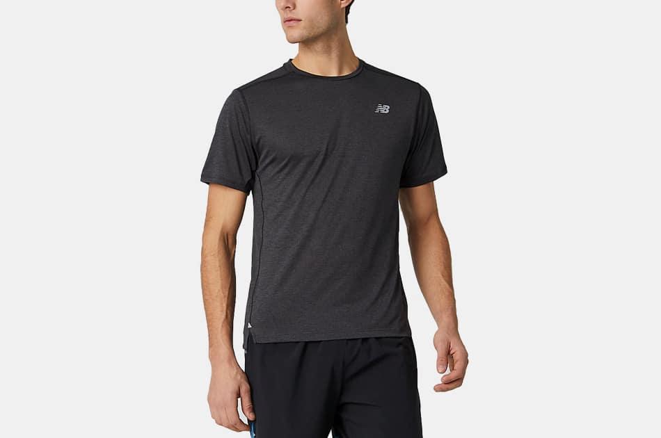 New Balance Impact Run Short Sleeve Shirt