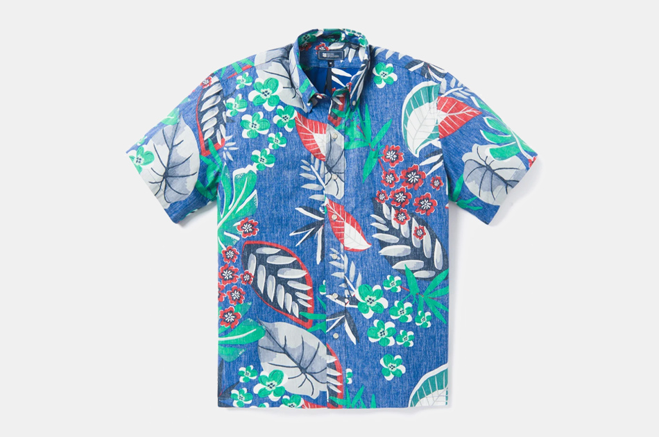 Reyn Spooner North Hilo Hawaiian Shirt