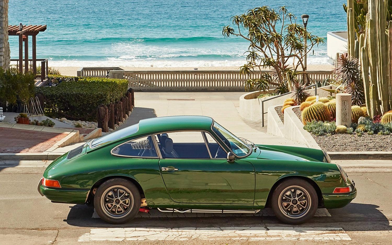 Tesla-Powered 1968 Porsche 911