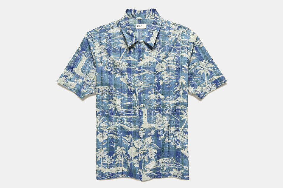 Universal Works Tropical Check Road Shirt