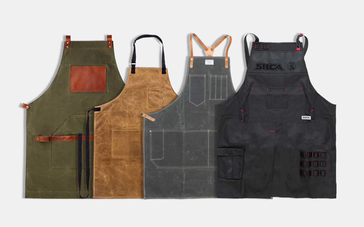 Classic cotton apron for style and functionality