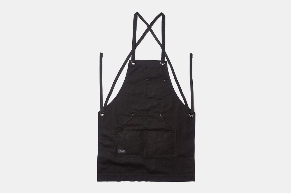 Hudson Durable Goods Waxed Canvas Work Apron