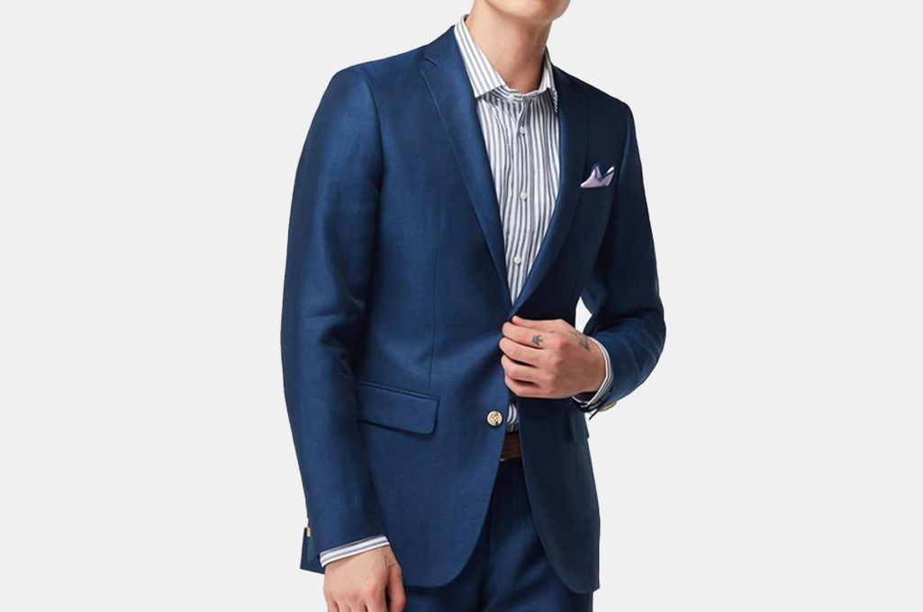Indochino Salisbury Blue Blazer