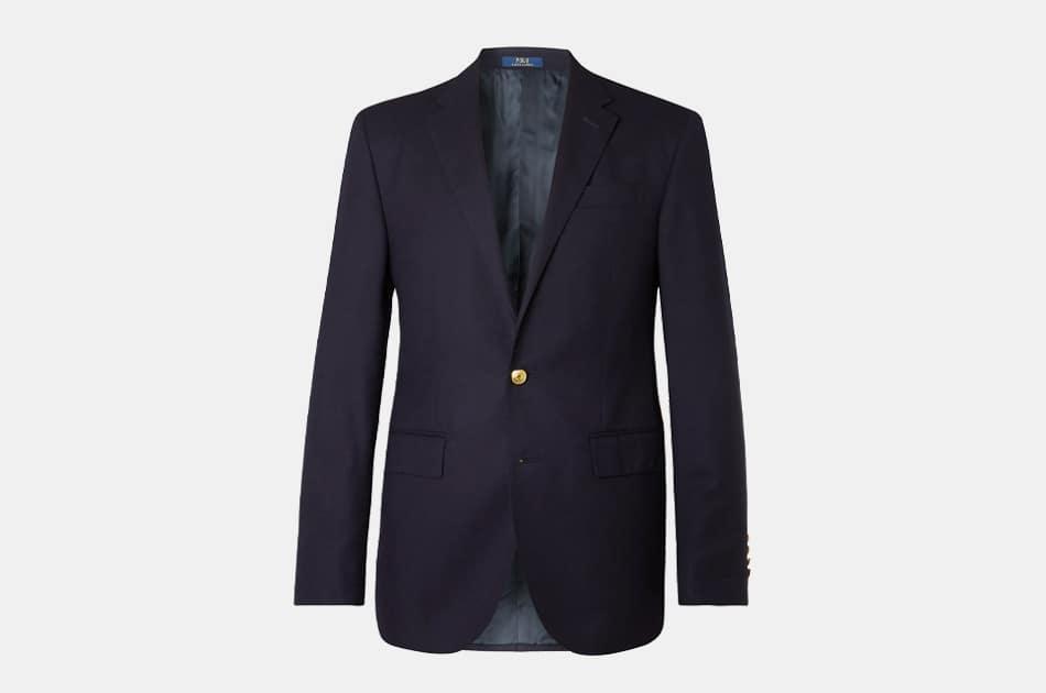 Polo Ralph Lauren Slim-Fit Unstructured Linen-Blend Blazer