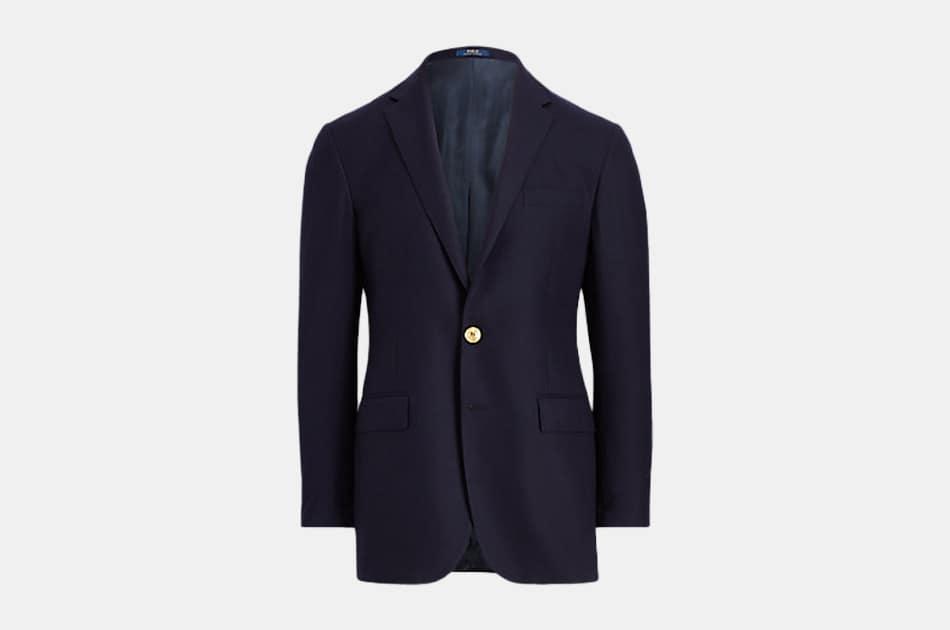 Ralph Lauren Polo Doeskin Knit Blazer