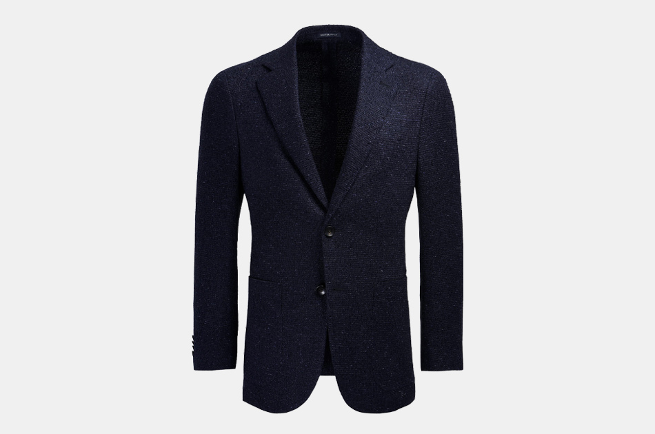 Mens Stylish Casual Slim Fit Button Daily Blazer