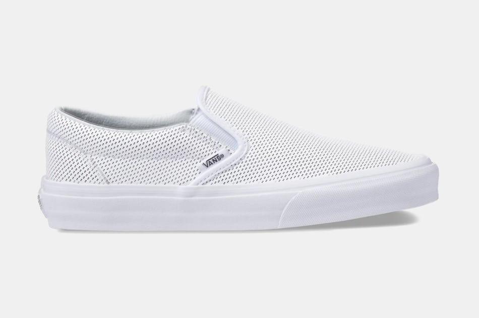 Vans Perf Leather Slip-On