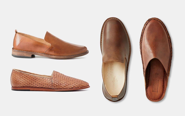 leather slip
