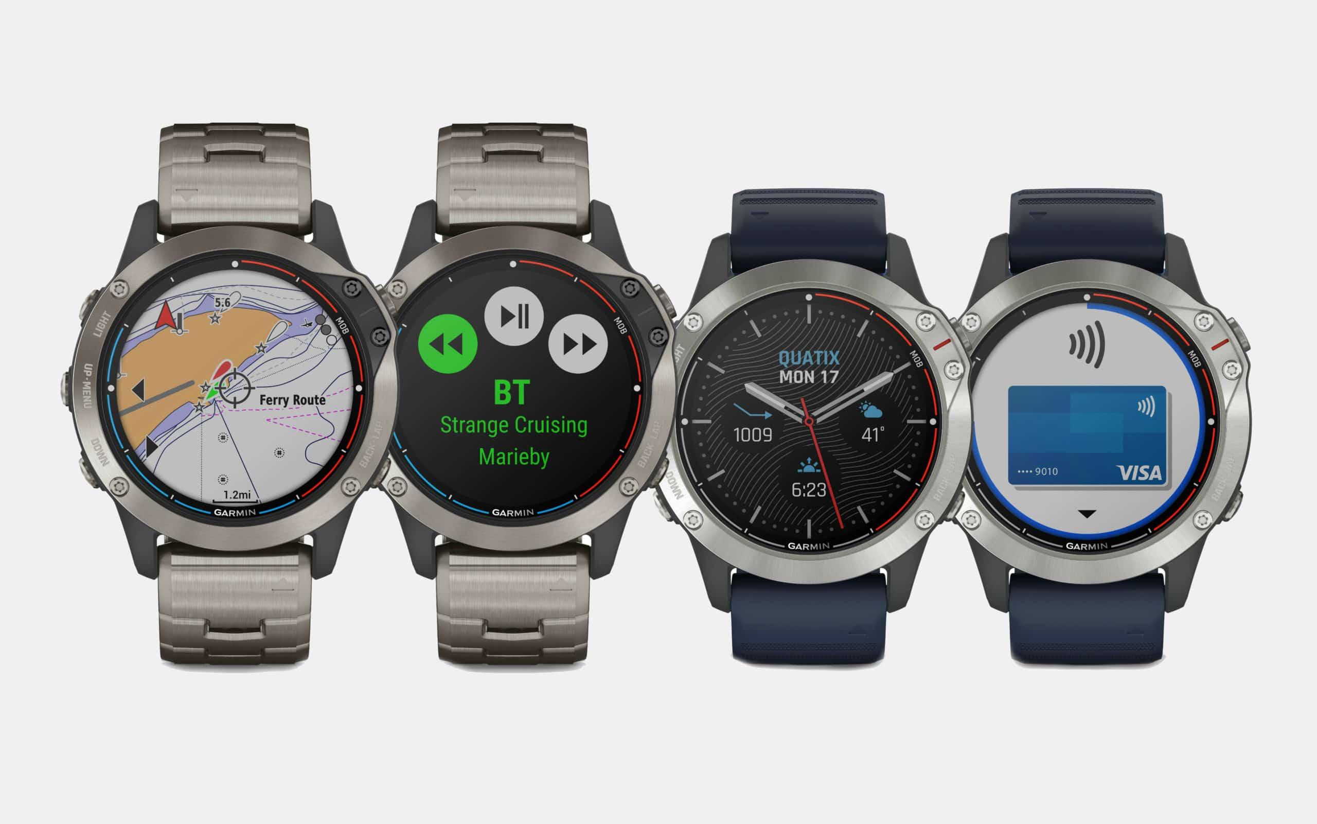 Garmin Quatix 6 Marine GPS Smartwatches