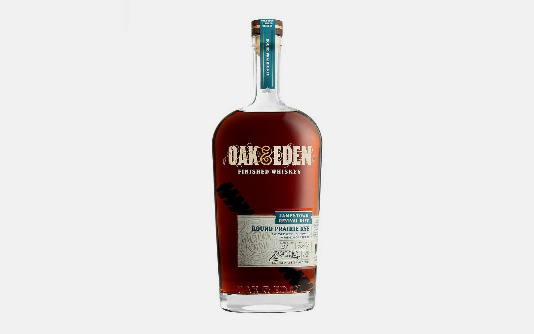 Oak & Eden Round Prairie Rye Whiskey