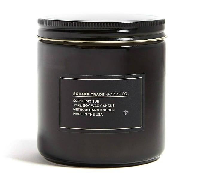 Square Trade Goods Big Sur Candle