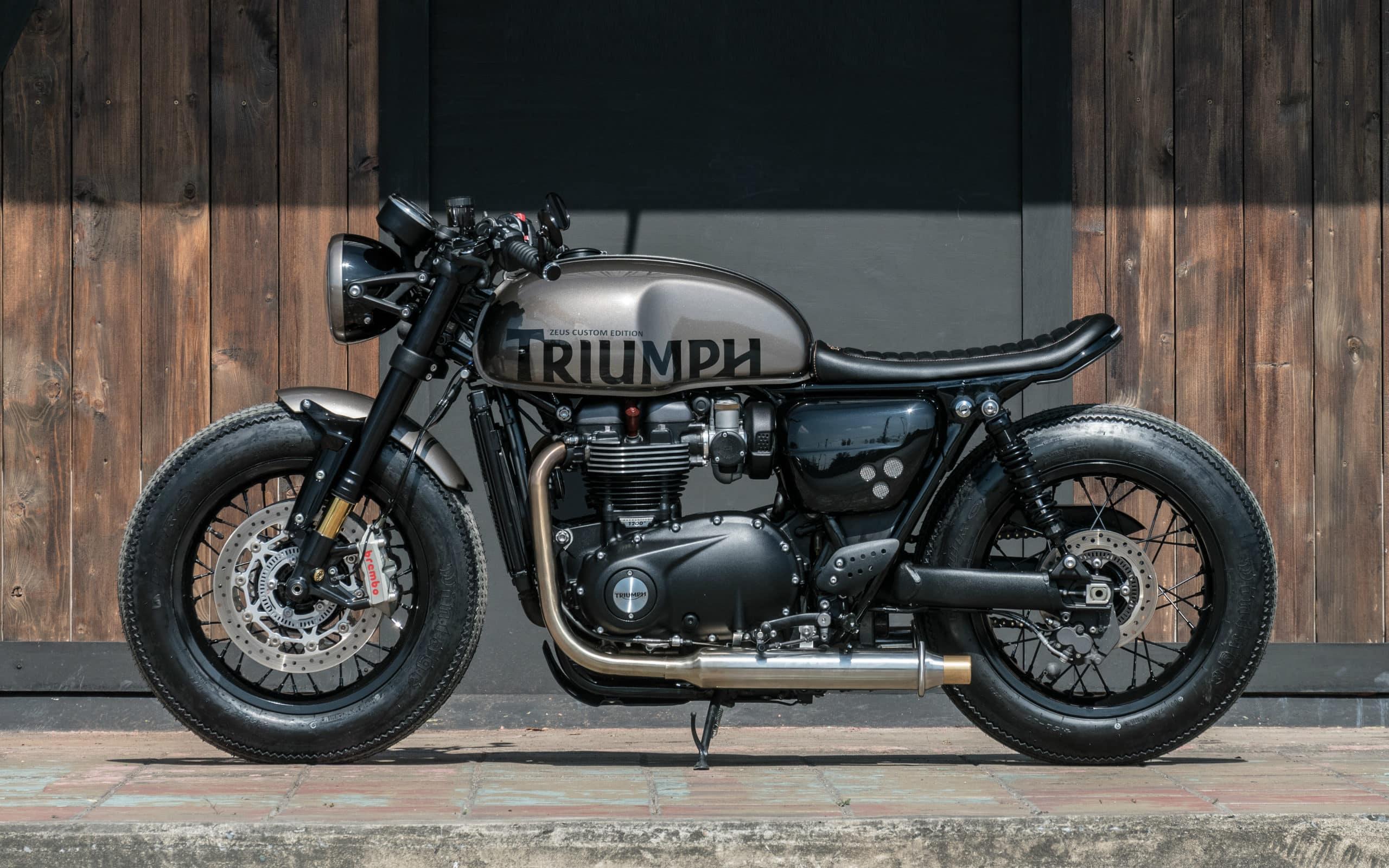Zeus Custom Merge Project Motorcycle