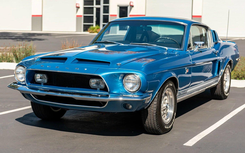 1968 Shelby Mustang GT500KR 4-Speed